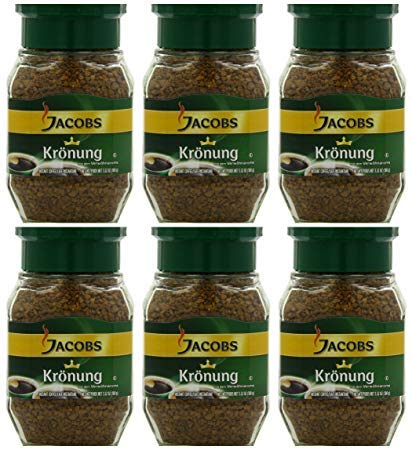 Jacob's Coffee Jacobs Kronung Instant, 7.05-Ounce (Pack of 6)