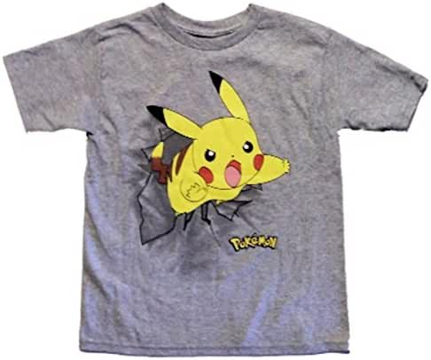 Pokemon Boys' Pokemon Group Short Sleeve Tee
