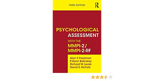Psychological assessment with the mmpi 2 mmpi 2 rf kindle psychological assessment with the mmpi 2 mmpi 2 rf kindle edition by alan f friedman p kevin bolinskey richard w levak david s nichols fandeluxe