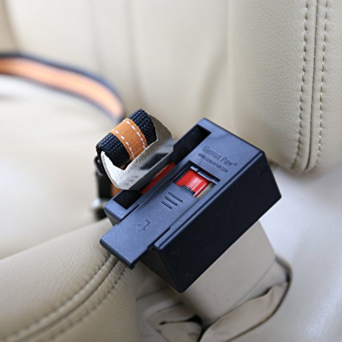 Genius Paw Buckle Guard, Car Seat Button Cover, Stop Dog Stepping Seat Belt, Standard - Paw Guard