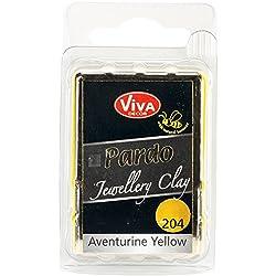 Viva Decor Pardo Jewelry Clay, 56g, Yellow Aventurine