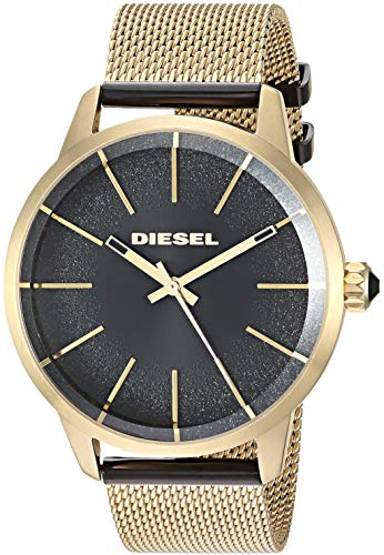 Diesel Women's 'Castilia' Quartz and Stainless-Steel-Plated Watch, Color:Black (Model: DZ5576)