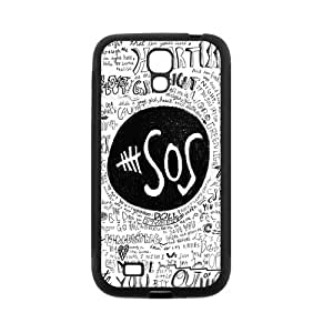 Danny Store 5SOS Protective TPU Rubber Cell Phone Cover Case for SamSung Galaxy S4,SIV Cases