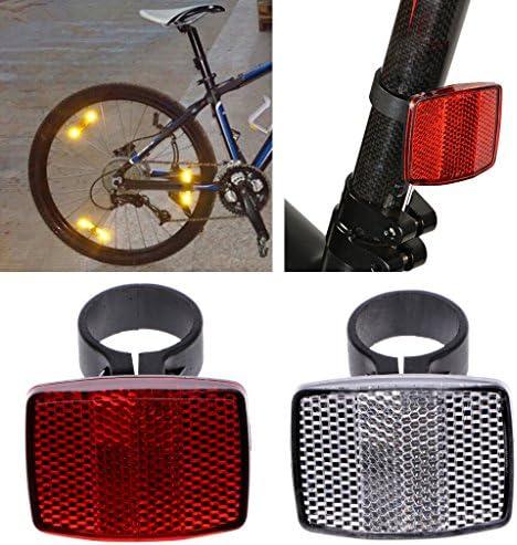 Manyo - Reflector de bicicleta para manillar reflectante ...