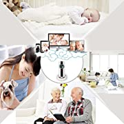 Video Baby Monitor WiFi Camera, CAMVIEW Wireless Security IP Camera with 2-way Audio, Night Vision, Panoramic Viewing in Smartphone