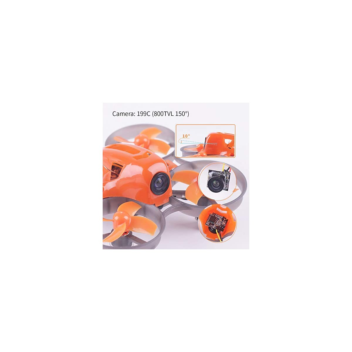 Armor 65 Plus Micro FPV Racing Drone 65mm Whoop Quadcopter F3 FC Frsky Receiver