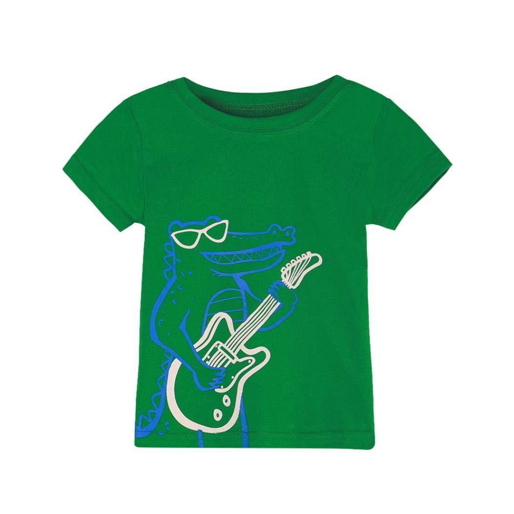 Lowprofile Toddler Kids Baby Boys T-Shirt Dinosaur Print Tops T-Shirt Blouse Clothes