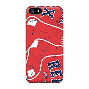 Ual2235uQRW Rewens Awesome Case Cover Compatible With Iphone 5/5s - Boston Red Sox