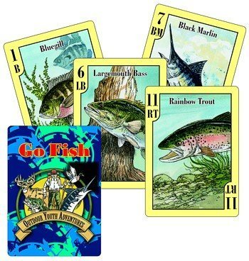 Go Fish Fish Fish  Card Game and Fish Identification Cards by Outdoor Youth Adventures 712606