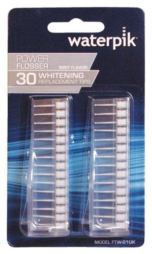 WATERPIK WHITEN FLOSSER TIPS 30 PK (pack of 3)