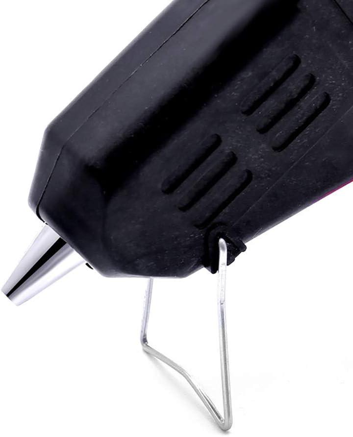 Pistolet /À Colle Basse Temp/érature Noir Mini Pistolet /À Colle Avec Auto Shutoff Kid Safe High Temp Pen for Polyvalence Office School Home R/éparations