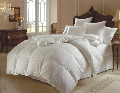 Perfect Home Collections Super Sale 100% Down Alternative Comforter(King/Cal-King - White) Solid Quilted Comforter Hypoallergenic, Siliconized Fiberfill Duvet Insert (Comforters On Sale)