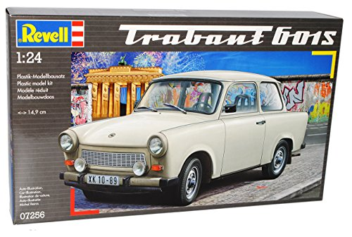Trabant 601s 601 S Limousine Beige Ddr 07256 Bausatz Kit 1/24 Revell Modellauto Modell Auto