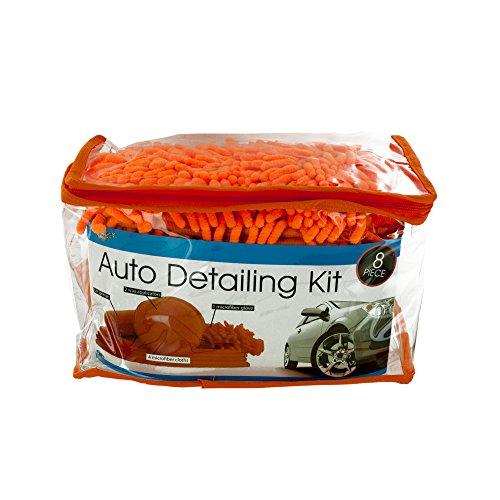 Kole Imports OD922 Microfiber Auto Detailing Kit