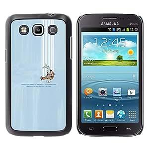LECELL--Funda protectora / Cubierta / Piel For Samsung Galaxy Win I8550 -- cayendo --