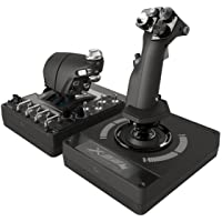 Logitech G X56 Hotas RGB Flight/Space Simulator Game Controller, Black
