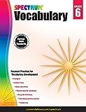Spectrum Vocabulary, Grade 6, , 1483811948