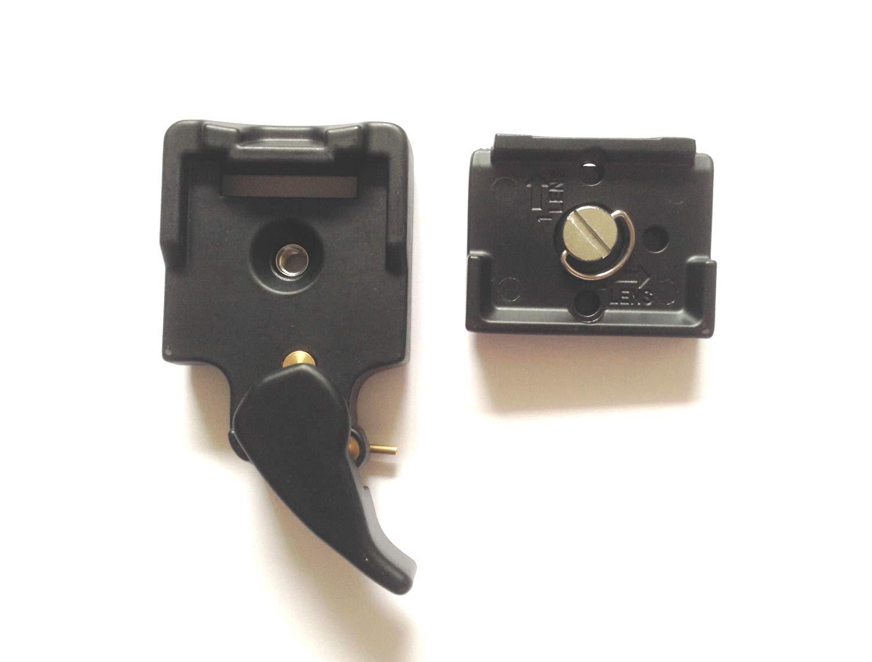 超格安一点 カメラ三脚クイックリムーバブルシートクイックアンロードシートノブファーストパックファーストボードインターフェース3/8ナット1/4ネジラピッドアセンブリファーストコネクションアダプタークイックローディングボードカメラプラットフォームクランプ B07P5LP2F2 B07P5LP2F2, ベクトル一宮店:763905b1 --- smartskills.ie