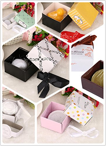 Yeefant 6 Set Creative Cute Gift Mini Scented Bath Soap Wedding Favors Bridal Party Shower,Replenishment, Whitening and Moisturizing Gift Set(2 Color) (Set Replenishment)