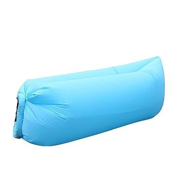 KJDS Aire Inflable sofá Tumbona, portátil Playa Impermeable de ...