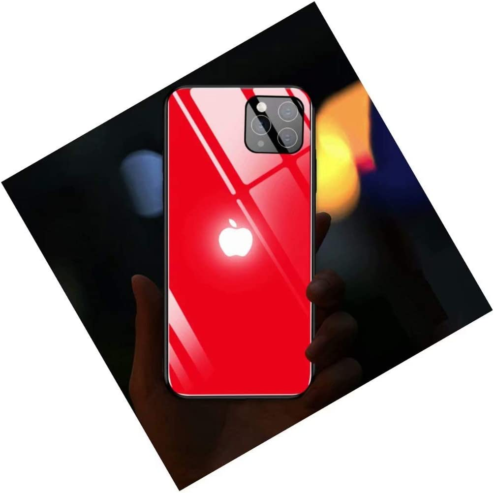 HONHAN for iPhone 11/ iPhone 11 PRO/iPhone 11 MAX Case Led Light Phone Case Glowing Light Case Illuminate Cover for iPhone 6/6S/6PLUS/7/7PLUS/8/8PLUS/X/XS/XR/XSMAX