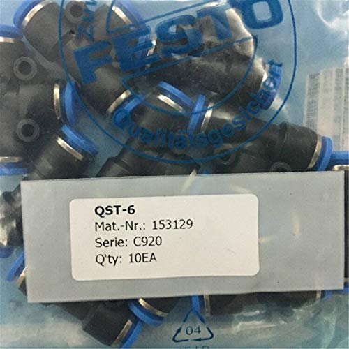 Fevas QST-6 Fittings Pneumatic Component Tools Connector Pipe Joint Pneumatic Elbow