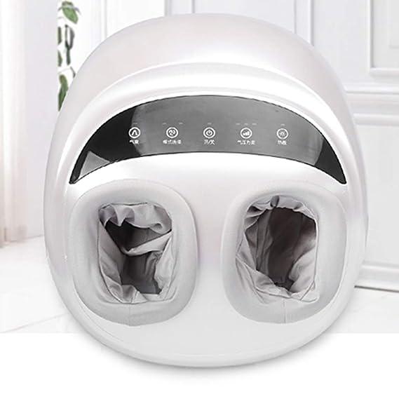 YANHX Masajeador De Pies Antiestrés Eléctrico 4D Shiatsu Amasado Presión De Aire Masajeador De Pies Calefacción Tratamiento del Pie Terapia Y Terapia DC12V, ...