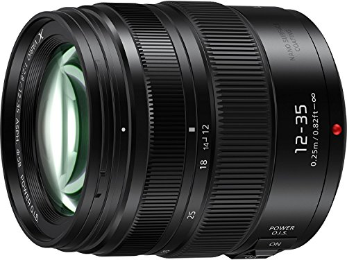 PANASONIC LUMIX G X VARIO II PROFESSIONAL LENS, 12-35MM, DUAL I.S. 2.0 WITH POWER OPTICAL I.S., MIRRORLESS MICRO FOUR THIRDS, H-HSA12035 (2017 Model – USA BLACK)