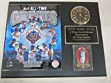 Mets All Time Greats Collectors Clock Plaque #1 w/8x10 Photo and Card