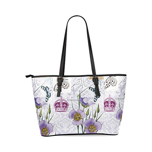flower-and-crown-womens-mosaic-high-grade-pu-leather-large-tote-bag-handbag-shoulder-bag