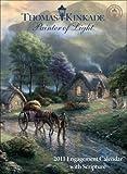 Thomas Kinkade Painter of Light with Scripture: 2011 Engagement Calendar