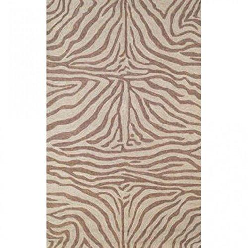 Ravella Brown Zebra Rug Rug Size: 2
