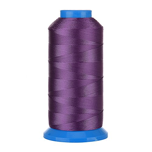 Selric [1500Yards / 20 Colors Available] UV Resistant High Strength Polyester ThreadII #69 T70 Size 210D/3 for Upholstery, Outdoor Market, Drapery, Beading, Purses, Leather (Purple)