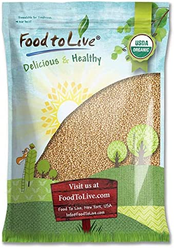 Grano de amaranto orgánico, 10 Libras - Semillas enteras, Sin OGM ...