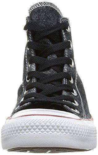 HI Sparkle All W Star Can Donna TZIP Converse Black Sneaker qBEaa