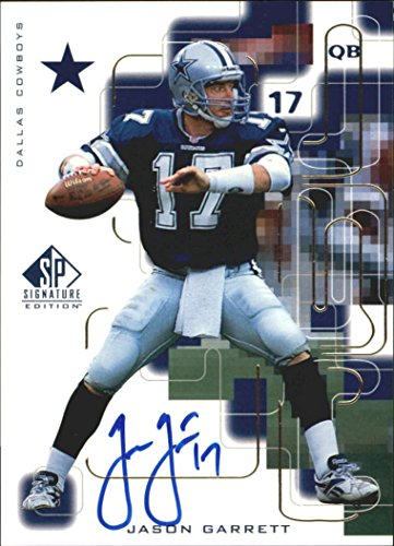 1999 SP Signature Autographs Gold #JG Jason Garrett Auto - NM-MT