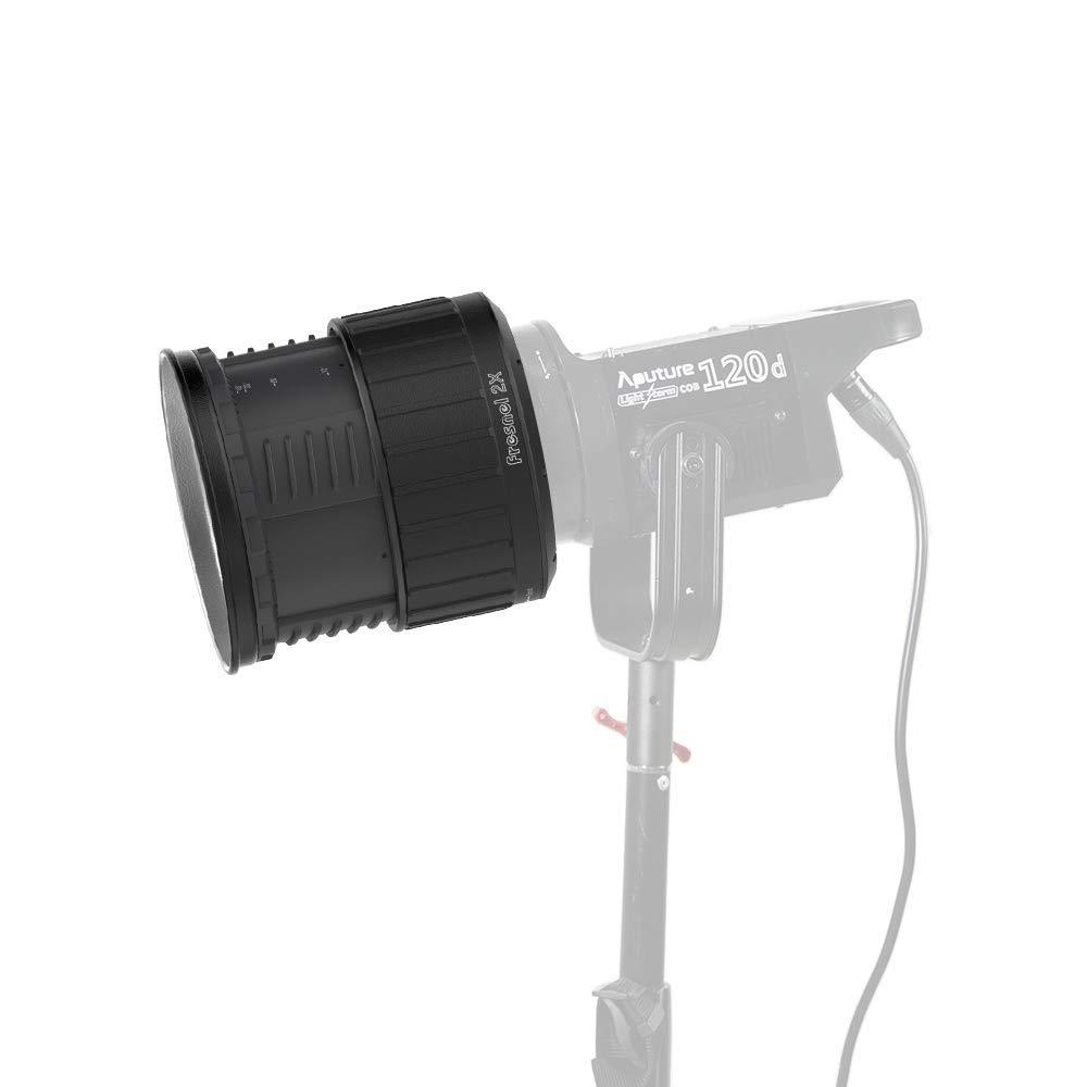 Aputure Fresnel 2X, Bowen-S Mount Light A Multi-Functional Light Shaping Tool Shape Your Light Use for LS C120d LS C120d Ⅱ LS C300d Spot Lens by Aputure (Image #4)