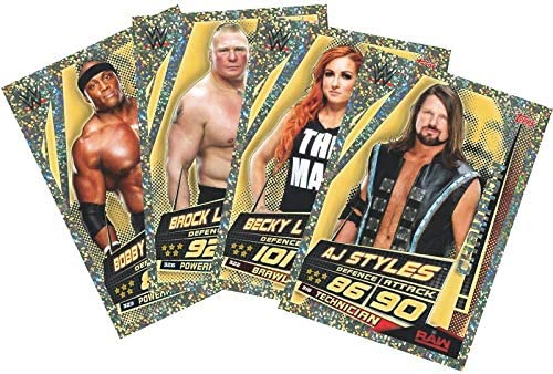 Multi Pack of 2 Topps India WWE Slam Attax Universe Edition 2019-20