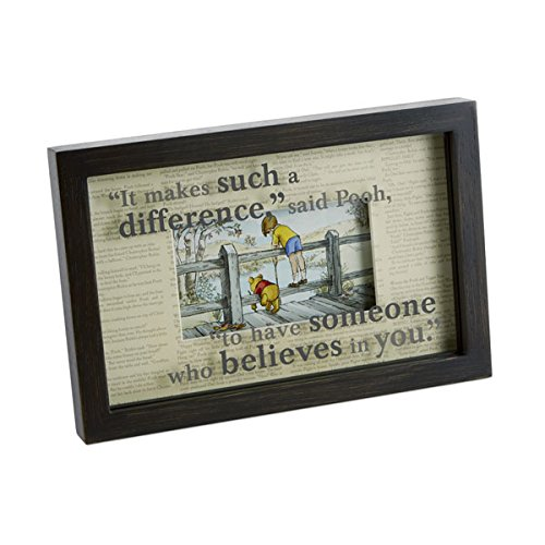 (HMK Hallmark Believes in You Framed Print Winnie The Pooh)