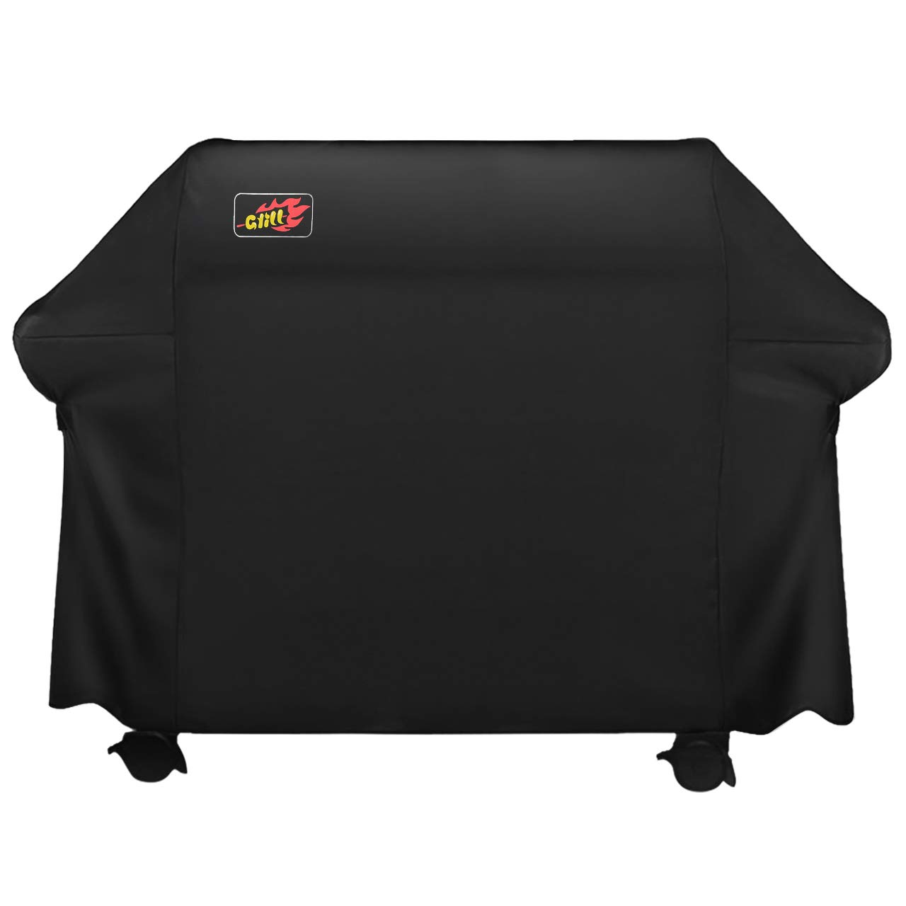 VicTsing 5+ Burner Grill Cover,BBQ Cover 72 inch, 600D Heavy Duty Gas Grill Cover for Weber,Char-Broil(UV/Dust/Water Resistant,Weather/Rip Resistant),XXL Large by VicTsing
