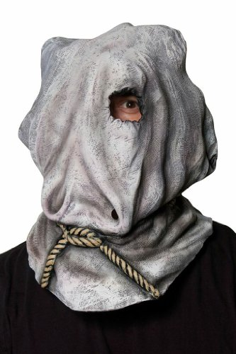Morbid Enterprises Jason Sack Mask, Grey, One Size]()