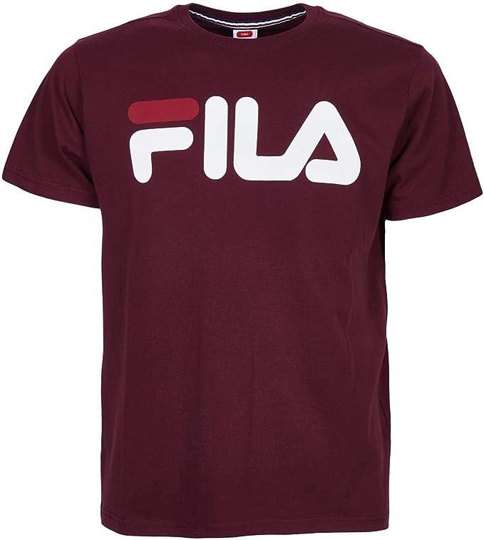Fila Classic T Shirt Homme Rouge Bordeaux Rouge