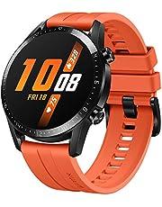 HUAWEI Watch GT 2 - Reloj Inteligente, 46mm, 3D Glass Screen, Bluetooth, Naranja