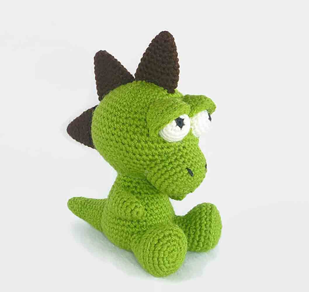 Dexter the Dinosaur - Free Amigurumi Pattern · The Magic Loop | 1000x1058