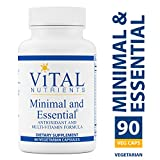 Cheap Vital Nutrients – Minimal & Essential – One a Day Multi-Vitamin/Mineral and Antioxidant Formula – 90 Vegetarian Capsules