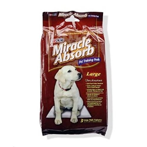 Rockie Miracle Absorb Pet Training Pads - Large