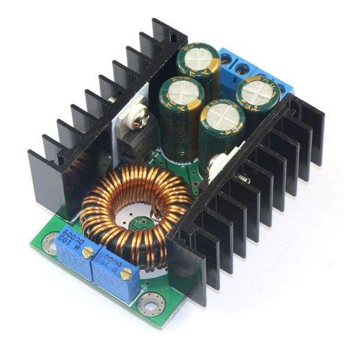 - DROK 090009||F 24V 12V to 5V 20A Buck Converter, 100W High Current Voltage Converter DC 10-35V 24 v 12 v to DC 5 V Volt Regulator Car LED/Solar Energy Regulated Power Supply Module