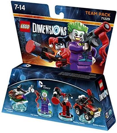 LEGO Dimensions: Team Pack DC Joker/Harley by Warner Bros. Interactive Entertainment: Amazon.es: Videojuegos