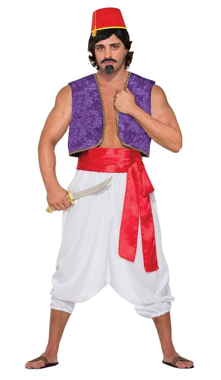 Genie Vest Adult Costume (Purple)