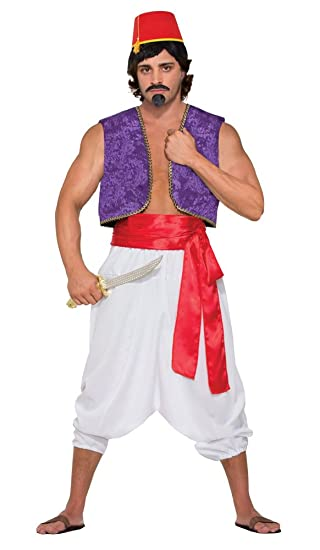 Forum Novelties X76415 42-Inch Purple Genie Vest Costume  sc 1 st  Amazon.com & Amazon.com: Forum Novelties X76415 42-Inch Purple Genie Vest Costume ...